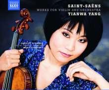 Camille Saint-Saens (1835-1921): Werke für Violine & Orchester, CD