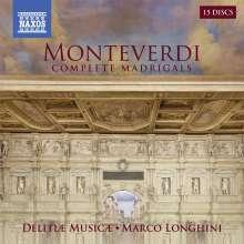 Claudio Monteverdi (1567-1643): Madrigali Libri I-IX (Gesamtaufnahme), 15 CDs