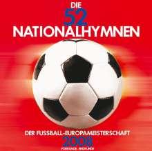 Die 52 Nationalhymnen der Fußball-Europameisterschaft 2008, CD