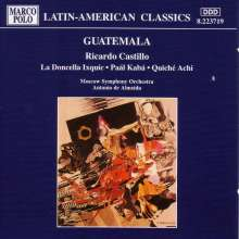 Ricardo Castillo (1894-1966): Paal Kaba (Ballettmusik), CD