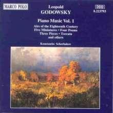 Leopold Godowsky (1870-1938): Klavierwerke Vol.1, CD