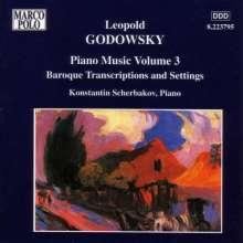 Leopold Godowsky (1870-1938): Klavierwerke Vol.3, CD