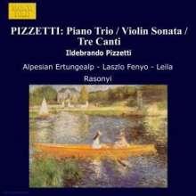 Ildebrando Pizzetti (1880-1968): Trio f.Violine,Cello & Klavier, CD