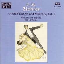 Carl Michael Ziehrer (1843-1922): Tänze und Märsche Vol.1, CD