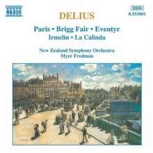 Frederick Delius (1862-1934): Orchesterwerke, CD
