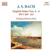 Johann Sebastian Bach (1685-1750): Englische Suiten BWV 809-811, CD