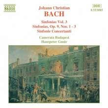 Johann Christian Bach (1735-1782): Symphonien Vol.3, CD