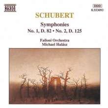 Franz Schubert (1797-1828): Symphonien Nr.1 & 2, CD