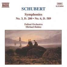 Franz Schubert (1797-1828): Symphonien Nr.3 & 6, CD