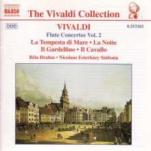 Antonio Vivaldi (1678-1741): Flötenkonzerte Vol.2, CD