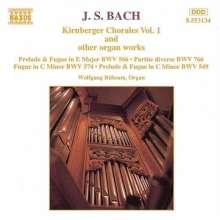Johann Sebastian Bach (1685-1750): Toccata & Fuge E-dur BWV 566, CD