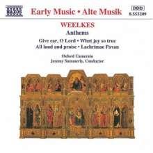 Thomas Weelkes (1575-1623): 17 Anthems, CD