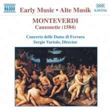 Claudio Monteverdi (1567-1643): Canzonette a 3 (1584), CD