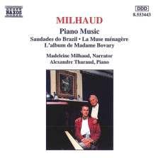 Darius Milhaud (1892-1974): Klavierwerke, CD