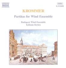 Franz Krommer (1759-1831): Oktett-Partiten für Bläser opp.57,71,78, CD