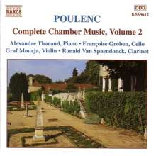 Francis Poulenc (1899-1963): Sämtliche Kammermusik Vol.2, CD