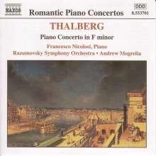 Sigismund Thalberg (1812-1871): Klavierkonzert op.5, CD