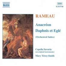 Jean Philippe Rameau (1683-1764): Anacreon-Suite, CD
