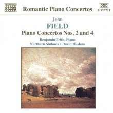 John Field (1782-1837): Klavierkonzerte Nr.2 & 4, CD