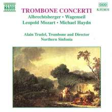 Alain Trudel spielt Posaunenkonzerte, CD