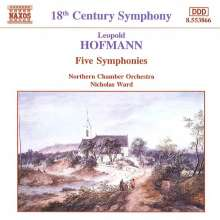 Leopold Hofmann (1738-1793): 5 Symphonien, CD