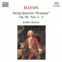 Joseph Haydn (1732-1809): Streichquartette Nr.44-46, CD