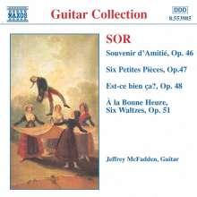 Fernando Sor (1778-1839): Gitarrenwerke, CD
