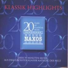 """Naxos-Sampler """"Klassik Highlights"""", CD"""