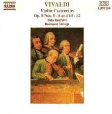 Antonio Vivaldi (1678-1741): Concerti op.8 Nr.5-8,10-12, CD