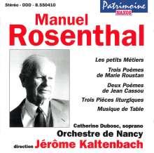 Manuel Rosenthal (1904-1994): Musique de Table, CD