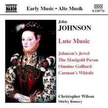 John Johnson (1540-1594): Lautenwerke, CD