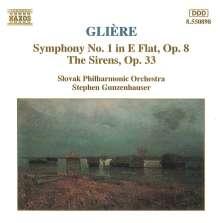 Reinhold Gliere (1875-1956): Symphonie Nr.1, CD
