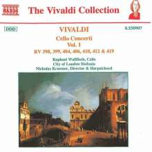 Antonio Vivaldi (1678-1741): Cellokonzerte Vol.1, CD