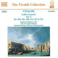 Antonio Vivaldi (1678-1741): Cellokonzerte Vol.2, CD