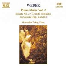 Carl Maria von Weber (1786-1826): Klavierwerke Vol.2, CD