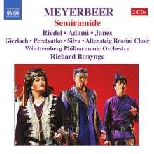 Giacomo Meyerbeer (1791-1864): Semiramide, 2 CDs