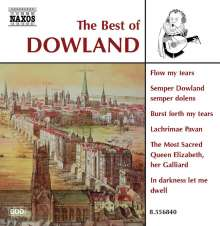 The Best of Dowland (Naxos), CD
