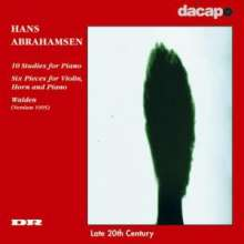 Hans Abrahamsen (geb. 1952): 10 Studien für Klavier, CD