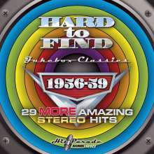 Hard To Find Jukebox Classics 1956 - 1959, CD