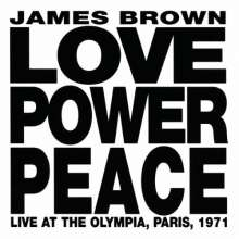 James Brown: Love Power Peace, CD