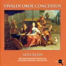 Antonio Vivaldi (1678-1741): Oboenkonzerte RV 447,450,451,453,454,455,457,461,463, CD