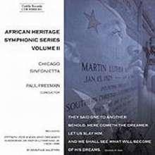 African Heritage Symphonic Series Vol.2, CD