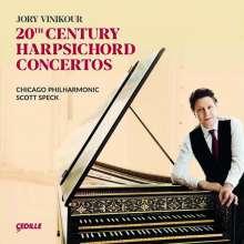 20th Century Harpsichord Concertos, CD