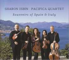 Sharon Isbin & Pacifica Quartet - Souvenirs of Spain & Italy, CD