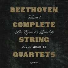 Ludwig van Beethoven (1770-1827): Sämtliche Streichquartette Vol.1, 2 CDs