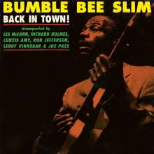 Bumble Bee Slim (Amos Easton): Back In Town, LP
