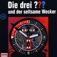 Die drei ??? (Folge 012) und der seltsame Wecker, CD