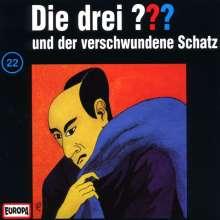 Die drei ??? (Folge 022) und der verschwundene Schatz, CD