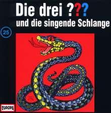 Die drei ??? (Folge 025) und die singende Schlange, CD