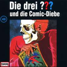 Die drei ??? (Folge 049) und die Comic-Diebe, CD